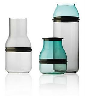Jars and vases by Sarah Böttger.
