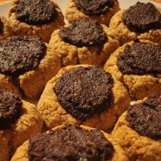 Ovesné koláčky s makovou náplní
