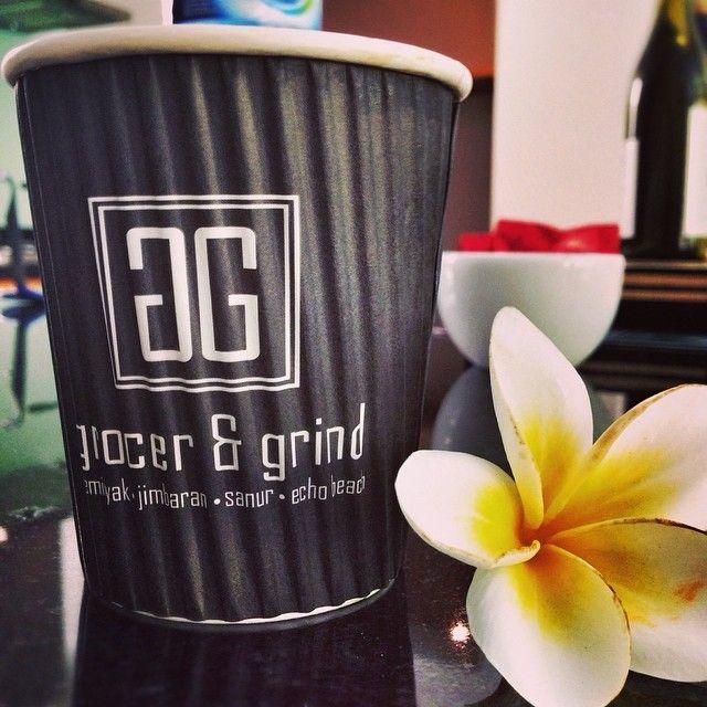 Simple pleasures  #goodcoffee #happiness #frangipani #seminyak #workhard #playhard