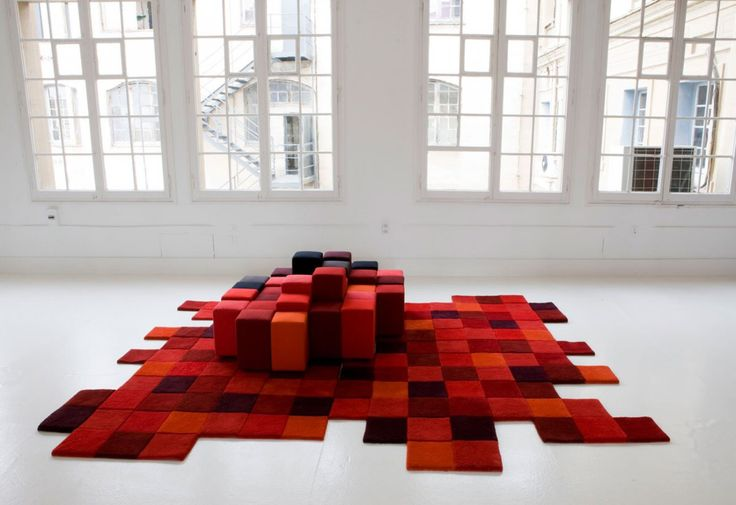 Do-Lo-Rez rug designed by Ron Arad for nanimarquina George - designer mobel ron arad kunst