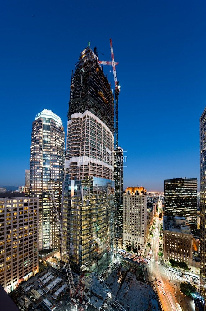 Wilshire Grand Tower Los Angeles by Hunter Kerhart
