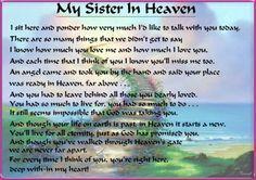 happy birthday in heaven poems