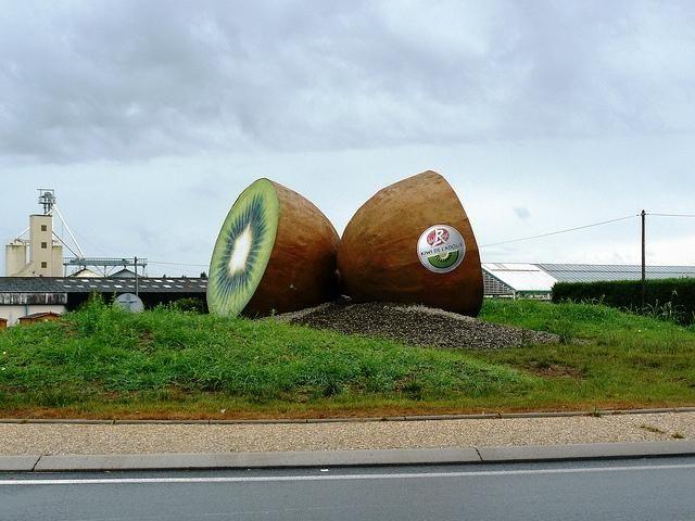 Rond-point Du Kiwi : Ville Et Quartier Peyrehorade.