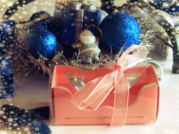 Presents 2014. Empty box of macaroons