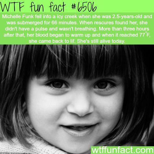 Michelle Funk - WTF fun facts