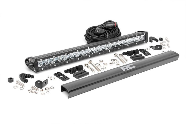 20-inch Single Row Cree LED Light Bar [70720] | Rough Country Suspension Systems®
