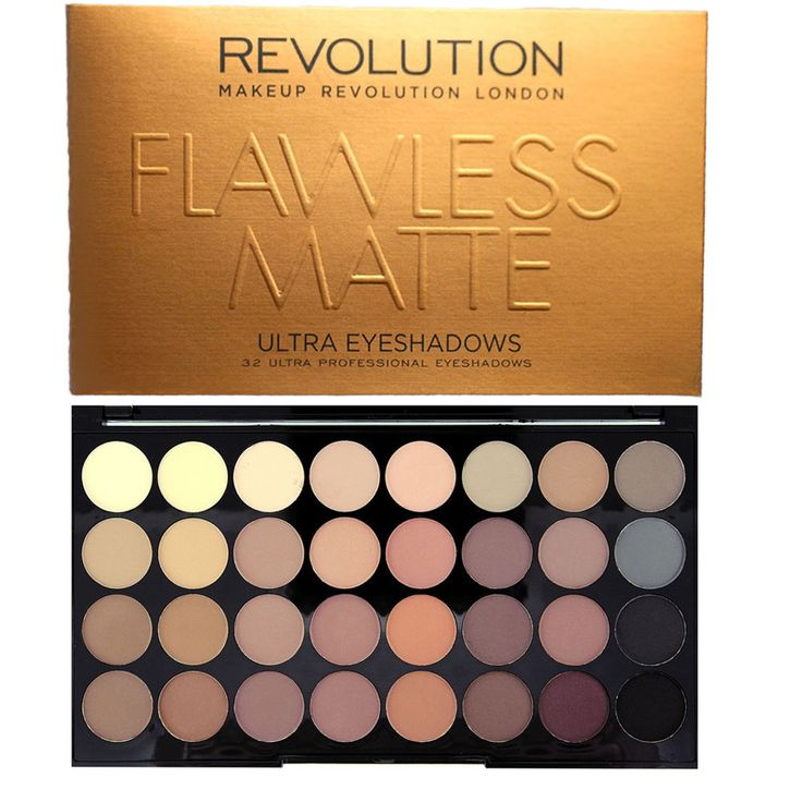 Makeup Revolution London Naked Dupe 32 Shade Eye shadow Flawless Mattes
