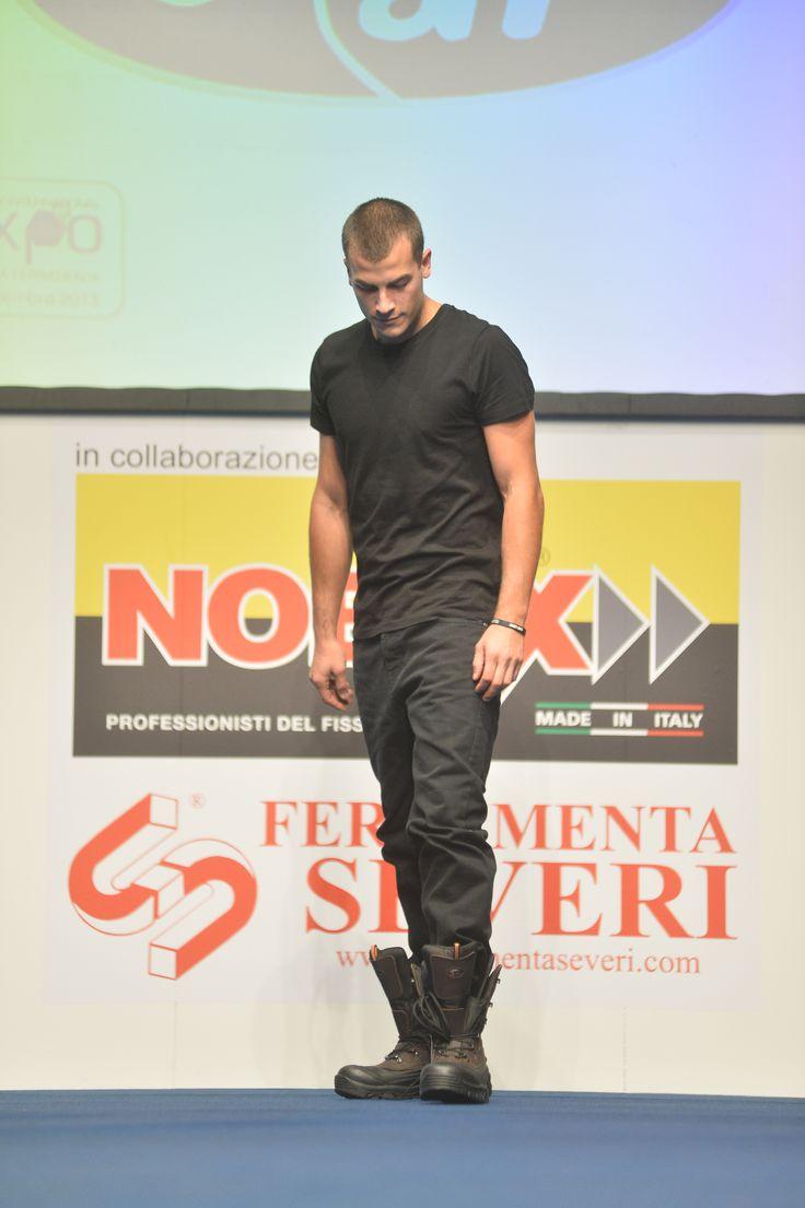 La sfilata moda lavoro è stata sponsorizzata da Nobex e Ferramenta Severi