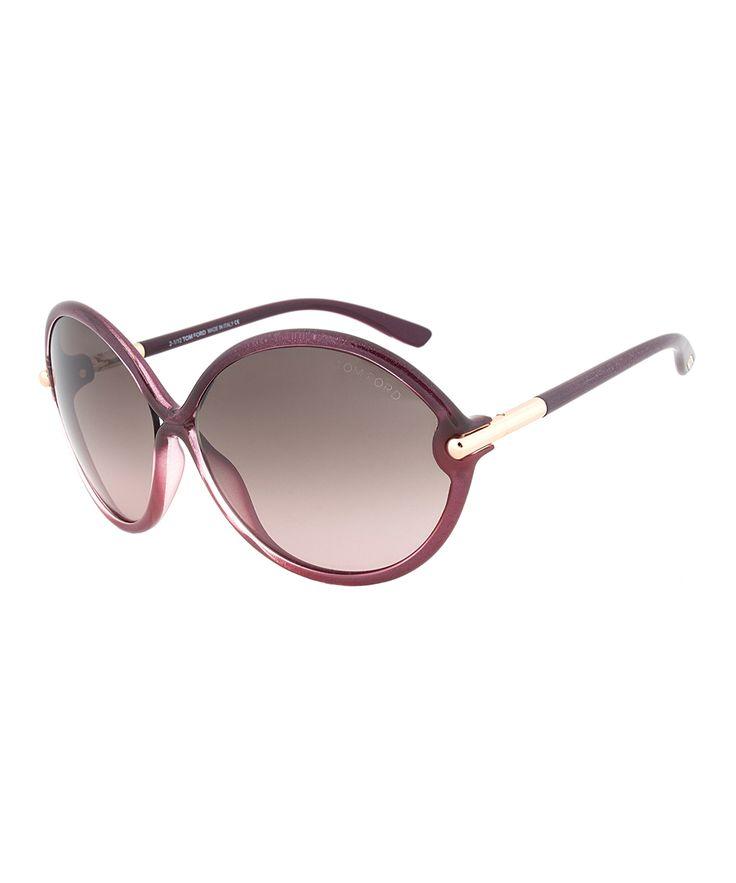 Violet & Brown Rita Gradient Sunglasses - Women