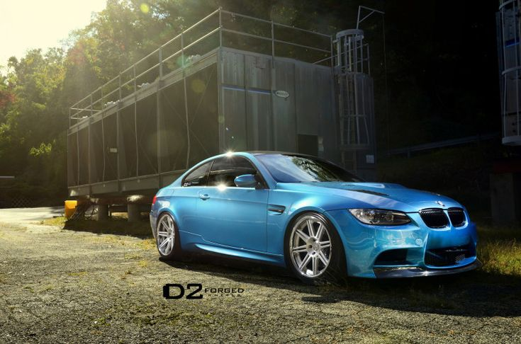 "Atlantis Blue BMW M3 - 19"" D2FORGED CV13 Wheels"