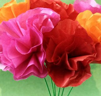 The Story of Ferdinand by Munro Leaf - Tissue Paper Roses