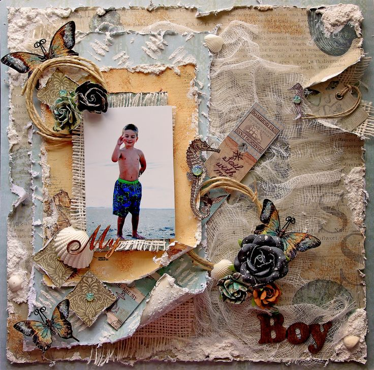 My Boy *Scraps Of Elegance* May Kit~May Cape Holiday - Scrapbook.com