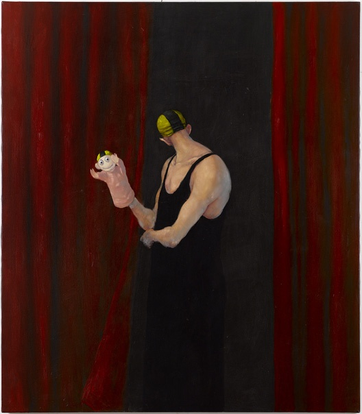 "Danish painter Michael Kvium ""Art Me I"" 1994"