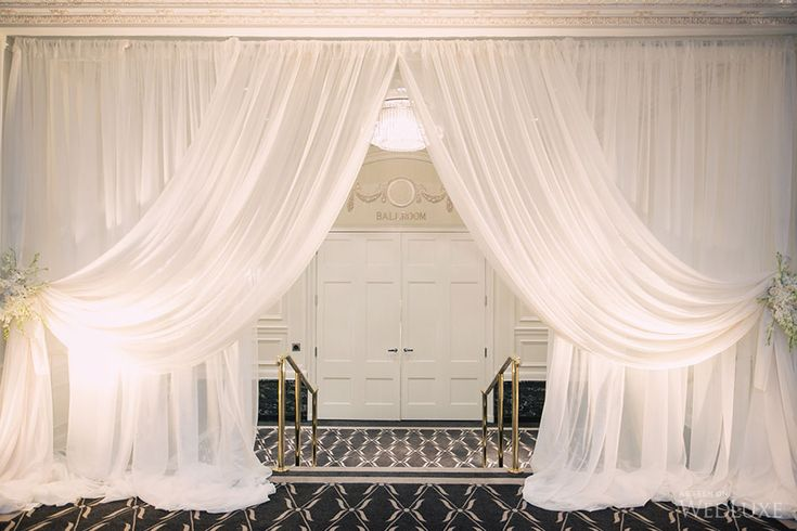 Diy Wall Draping For Weddings That Meet Interesting Decors: 220 Best Fabric Draping Images On Pinterest