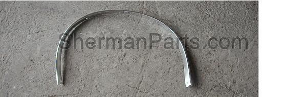 LH Front Wheel Opening Moulding Ford Mustang 67-68