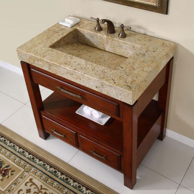 Unique 483939 Savannah Vanity With Top At Menards