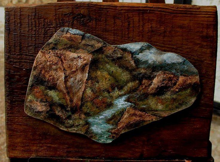 Paisaje Cortado en Piedra