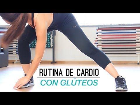 Entrenamiento de cardio con ejercicios de piernas