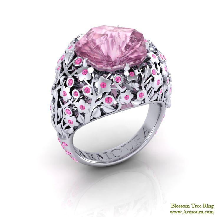 Hanami Cherry Blossom tree ring from www.Armoura.com