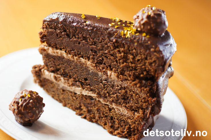 Det søte livs sjokoladekake