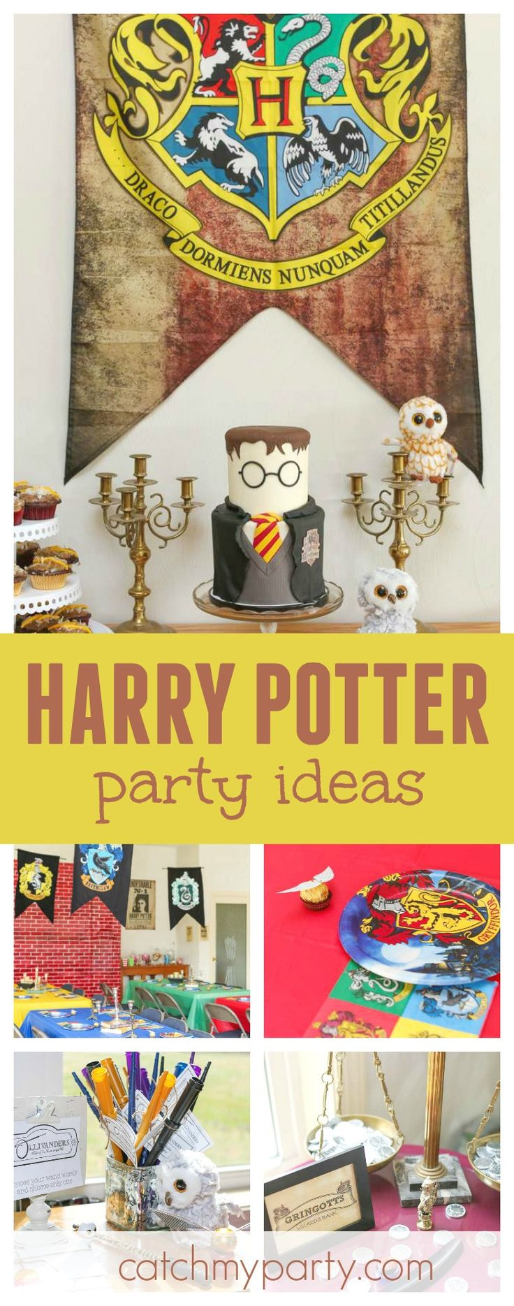 17 Best Ideas About Harry Potter Decor On Pinterest