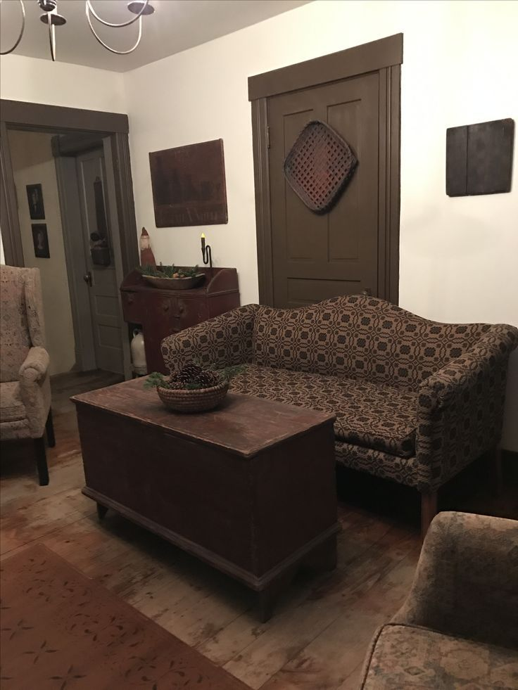 Simple Primitive Living Room Primitive Decorating Colonial Living Room