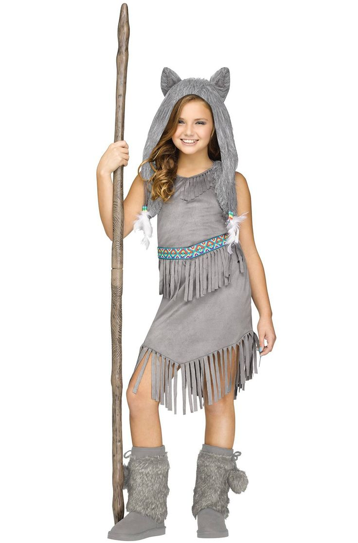 Go on a vision quest and discover your true self when you dress up in this fun and fashionable Native American costume. Inspired by the historical garments of the American Indians, this fun child costume will look great at your next Halloween celebra