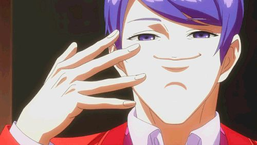 Boredom= Shuu Tsukiyama GIF by IzumiKiyomizu  Me: I'm having serious trouble figuring out what's going on here. Guess I'll be having more nightmares tonight, once again filled with Tsukiyama.