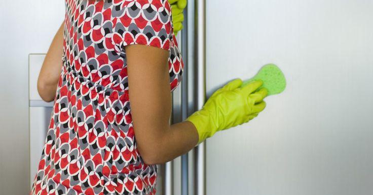 Como remover riscos de portas de geladeiras brilhantes. Acidentalmente, raspar brinquedos e utensílios contra a superfície de um refrigerador poderá resultar em riscos. Arranhões em aparelhos de aço inoxidável têm uma tendência a se destacar mais do que em outros acabamentos, mesmo quando os riscos são finos. Arranhões profundos muitas vezes irão requerer a ajuda de um técnico profissional. Antes de ...
