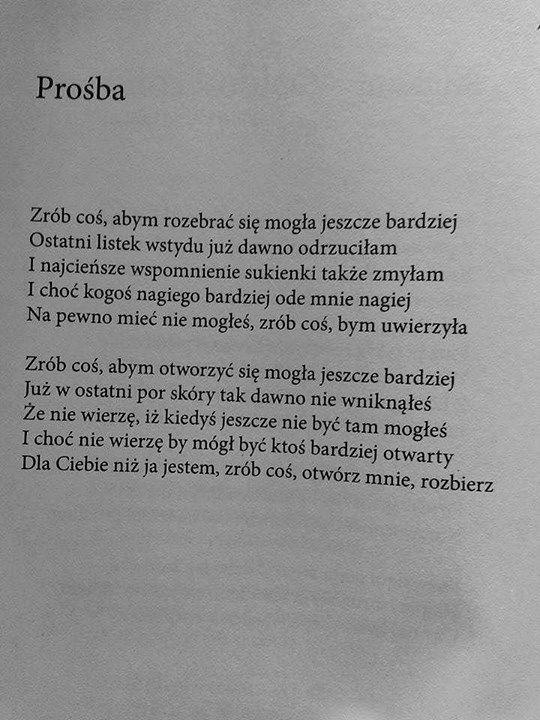 """""""Prośba""""  Rafał Wojaczek"""