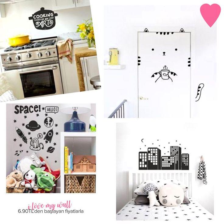 I Love My Wall Duvar Stickerlarını çok seveceksiniz! #dekorazoncom >> http://www.dekorazon.com/i-love-my-wall-duvar-sticker?utm_source=pinterest&utm_medium=post&utm_content=i-love-my-wall-duvar-sticker