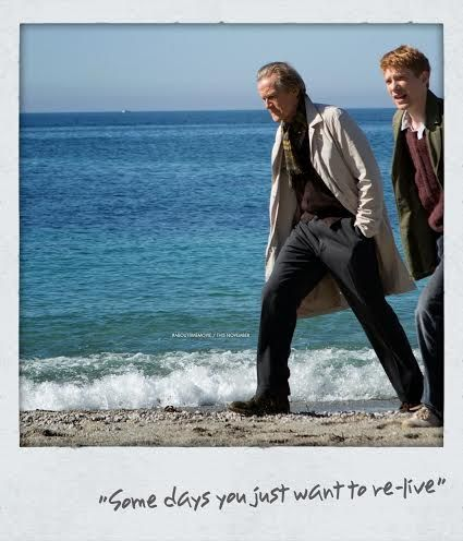Bill Nighy y Domhnall Gleeson en About Time