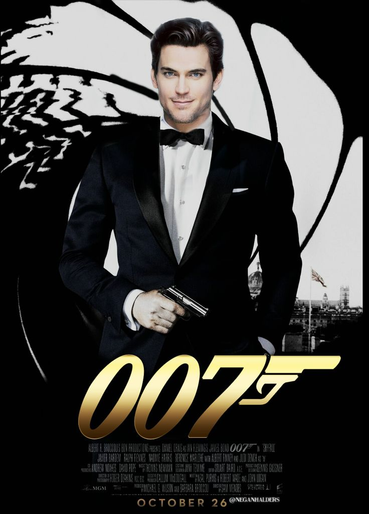 Matt Bomer as James Bond 007 (created by @neganhalders)