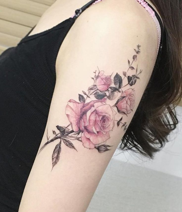 25+ Best Ideas About Vintage Flower Tattoo On Pinterest
