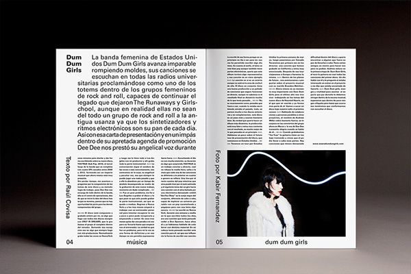 Lados No.29 by Cordova-Canillas, via Behance #grafica #magazine #impaginato