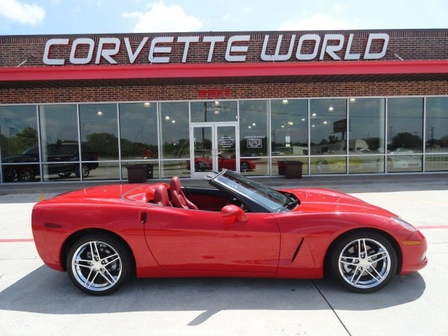 2005 chevrolet corvette victory red for sale corvette world houston tx. Cars Review. Best American Auto & Cars Review