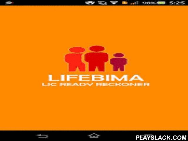 LIC Ready Reckoner - LifeBima  Android App - playslack.com ,  LifeBima application takes away the hassles of managing paperwork while explaining and understanding Insurance Policies. The application makes it easy and simple for Insurance agents to explain various plans such as- Amulya Jeevan 2 Table no 823- Anmol Jeevan 2 Table no 822- New Jeevan Anand Plan No 815- New Bima Bachat Plan No 816- New Money Back plan for 20 Years Plan no 820 - New Money Back plan for 25 Years Plan no 821- New…