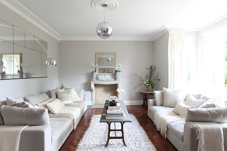 Simple and elegant living room (actually, this house was originally a monastery)