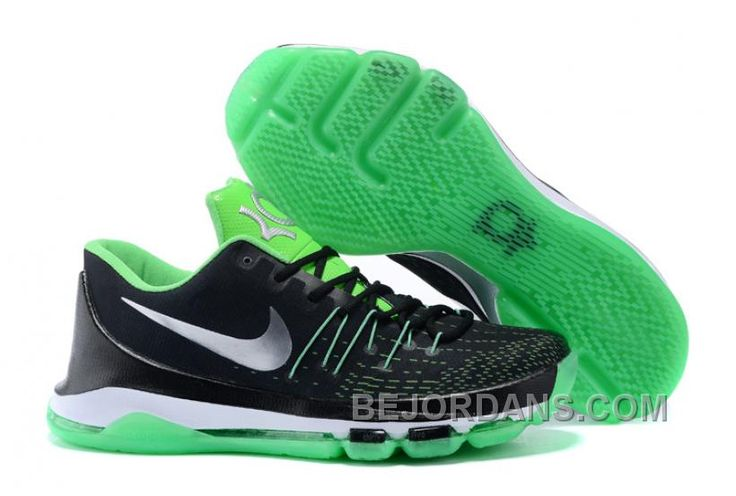 http://www.bejordans.com/free-shipping-6070-off-nike-kd-8-custom-black-green-ewmpp.html FREE SHIPPING! 60%-70% OFF! NIKE KD 8 CUSTOM BLACK GREEN EWMPP Only $86.00 , Free Shipping!