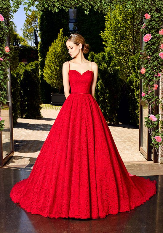 1000  ideas about Red Wedding Gowns on Pinterest  Red wedding ...