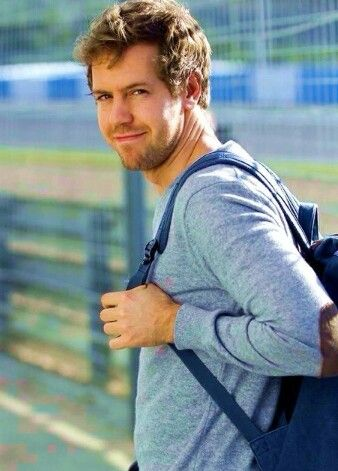 Sebastian Vettel today at Jerez