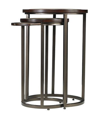 Shop For Stanley Furniture Round Metal Nesting Tables, And Other Living  Room At Hickory Furniture Mart In Hickory, NC. Small Table Has One Pullout.