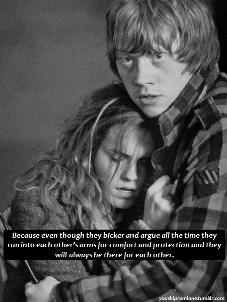 hermione granger and ron weasley relationship goals