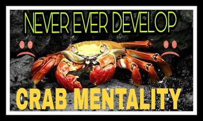 Think and grow rich: Crab Mentality