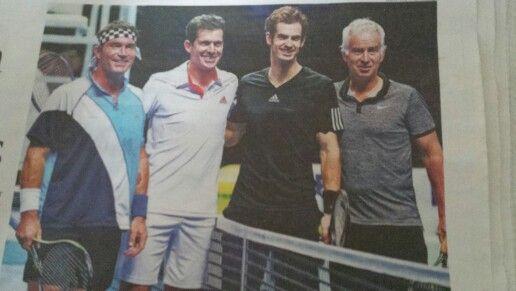 ATP November 2014. Andy Murray saves the day..