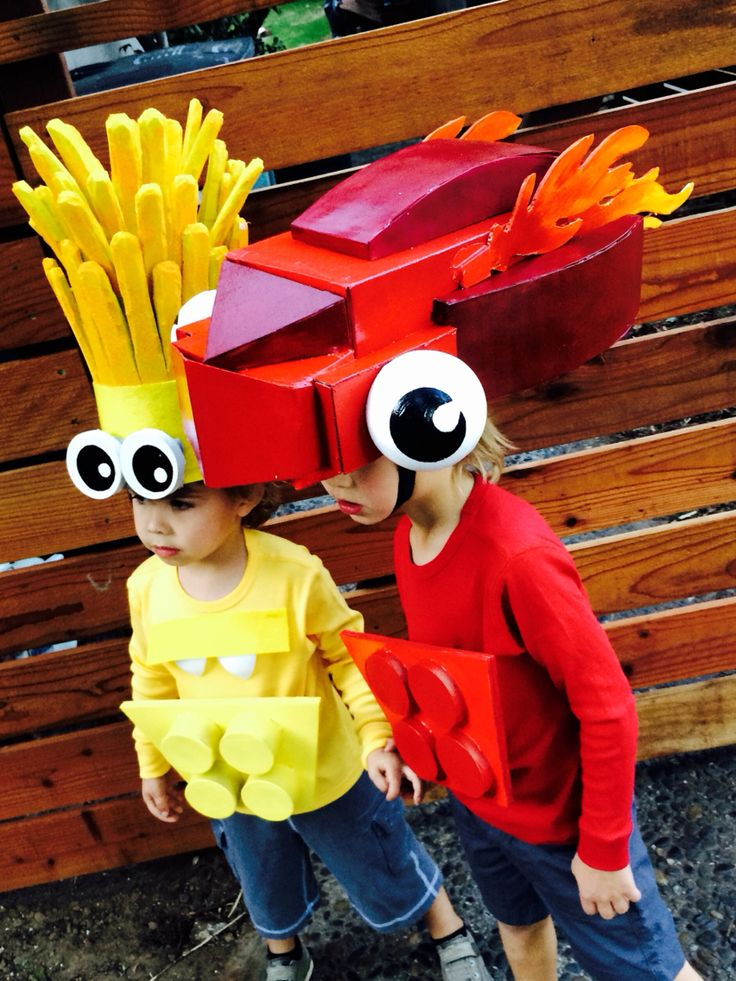 lego mixel costumes   volectro and flain kids lego