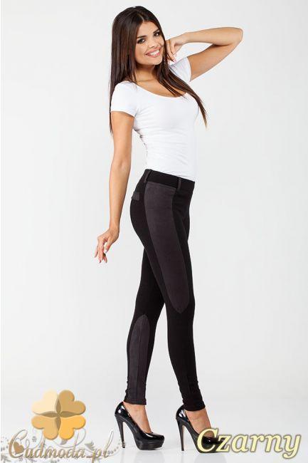 Dopasowane spodnie bryczesy - leginsy z miękkiej, elastycznej przędzy marki Paulo Connerti.  #cudmoda #moda #ubrania #odzież #clothes #leggings #legginsy #leginsy #hosen #spodnie #styl