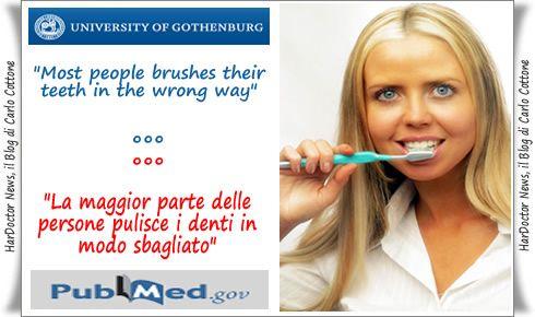 Come ti lavi i denti?
