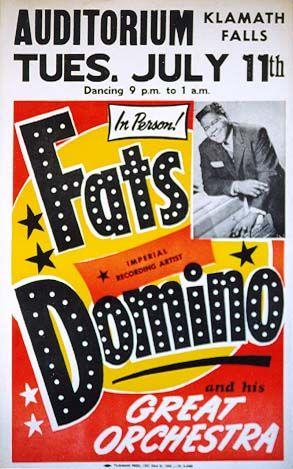 Fats Domino Flyer...