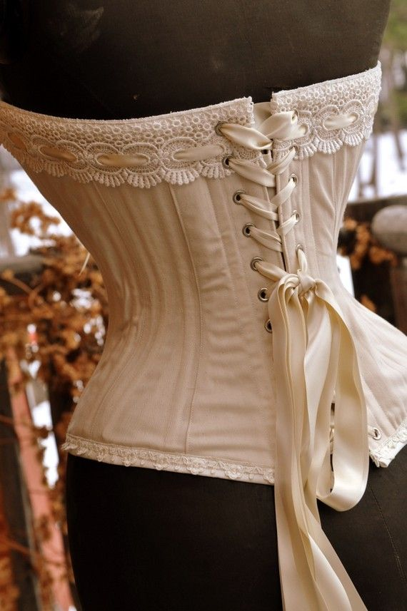 CorsetWhite Corsets, Lace Tops, Tulle Skirts, Fashion Ideas, Wedding Corsets, Bridal Lingerie, Rustic Weddings, Hippie Weddings, Overbust Corsets